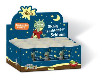 Display Die Olchis Olchig leuchtender Schleim, 4260160897674