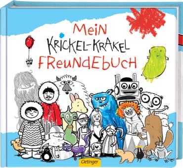 Krickel-Krakel Freundebuch, 4260160899876