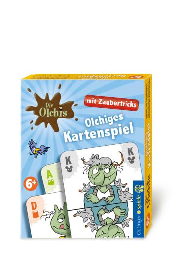 Die Olchis Kartenspiel mit Zaubertricks, 4260160899562