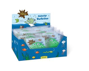 Die Olchis Display wabbelige Wurfkröten, 4260160898282