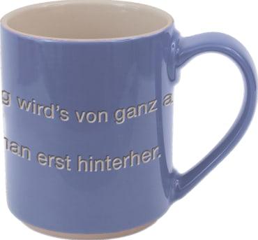 Astrid Lindgren-Helden. Becher Tasse blau, 4260512181147
