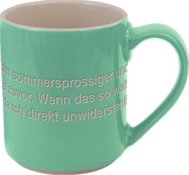 Astrid Lindgren-Helden. Becher Tasse grün, 4260512181154