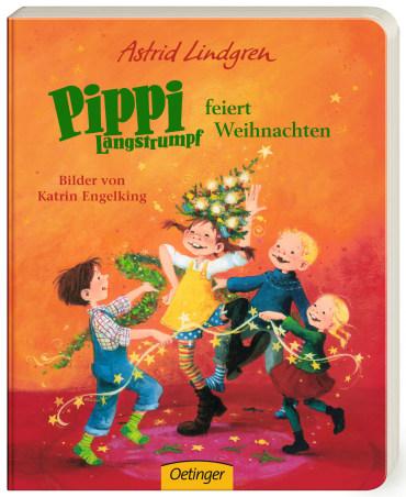 Pippi Langstrumpf feiert Weihnachten, 9783789179402