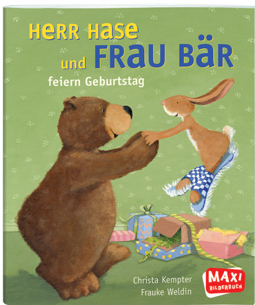 Herr Hase und Frau Bär, 9783770776320