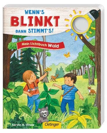 Wenn´s blinkt, dann stimmt´s! Mein Lichtbuch Wald, 9783789108716
