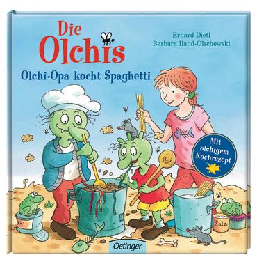 Die Olchis Olchi-Opa kocht Spaghetti, 9783789108020