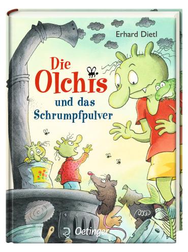 Die Olchis und das Schrumpfpulver, 9783789108105