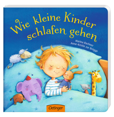 Wie kleine Kinder schlafen gehen, 9783789105609