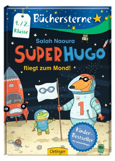 Superhugo fliegt zum Mond!, 9783789104039