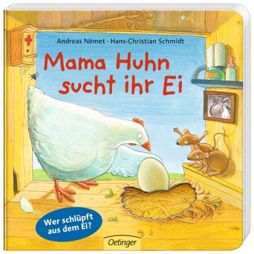 Mama Huhn sucht ihr Ei, 9783789171789