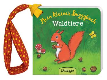 Mein kleines Buggybuch Waldtiere, 9783789108952