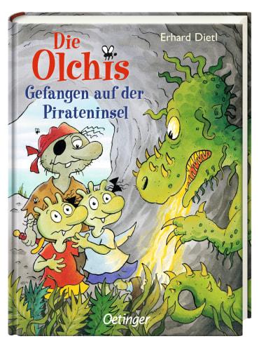 Die Olchis Gefangen auf der Pirateninsel, 9783789104404