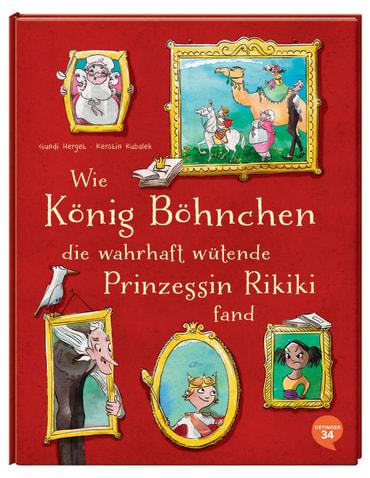 Wie König Böhnchen die wahrhaft wütende Prinzessin Rikiki fand, 9783958821064