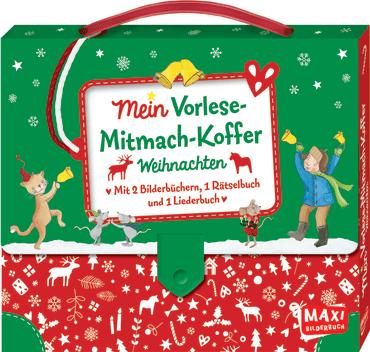 Mein Vorlese-Mitmach-Koffer. Weihnachten, 9783770701223