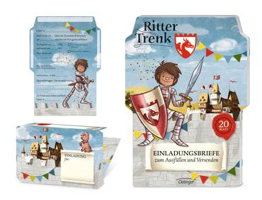 Ritter Trenk Einladungskarten, 4260160893140