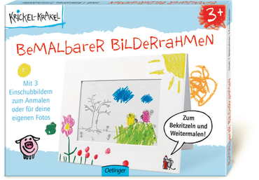 Krickel-Krakel bemalbarer Bilderrahmen, 4260160896691