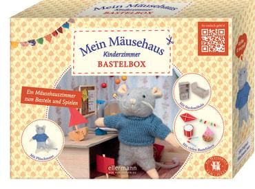 Mein Mäusehaus Kinderzimmer Bastelbox, 4260160880324