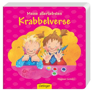 Meine allerliebsten Krabbelverse, 9783789165917