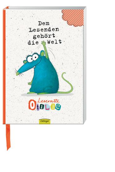 Leseratte Otilie Notizbuch, 4260160899760