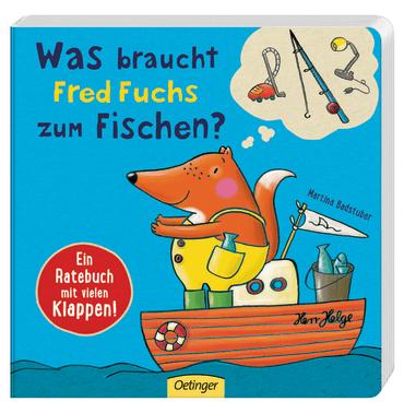 Was braucht Fred Fuchs zum Fischen?, 9783789104114