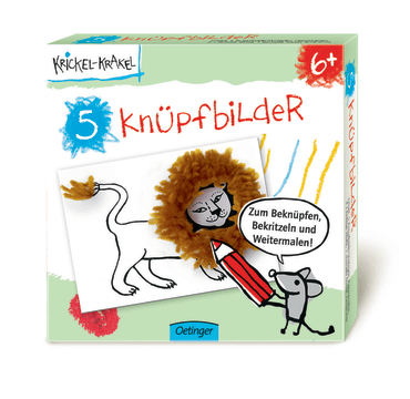 Krickel-Krakel 5 Knüpfbilder, 4260160896417