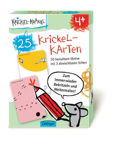 Krickel-Krakel 25 Krickel-Karten, 4260160896455
