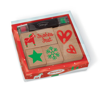 Weihnachtliches Stempelset, 4260160896981