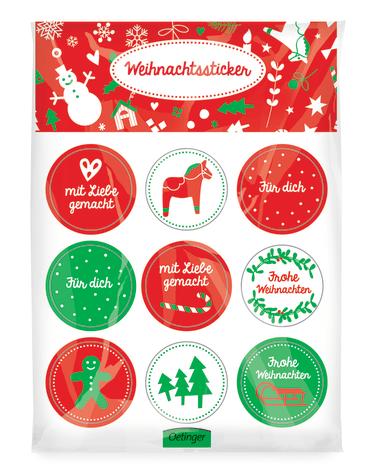 Weihnachtssticker, 4260160896790