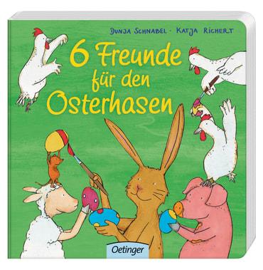 6 Freunde für den Osterhasen, 9783789104893