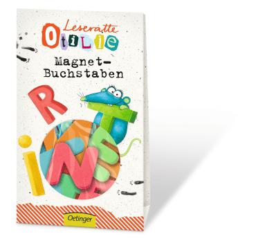 Leseratte Otilie Magnet-Buchstaben, 4260160899333