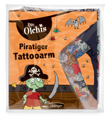 Die Olchis Piratiger Tattooarm, 4260160898831