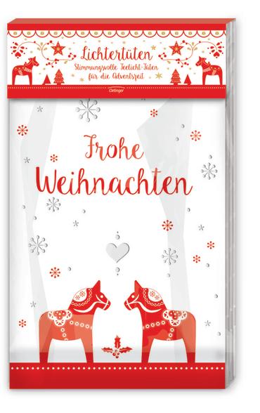 Weihnachtliche Lichtertüten, 4260160898701