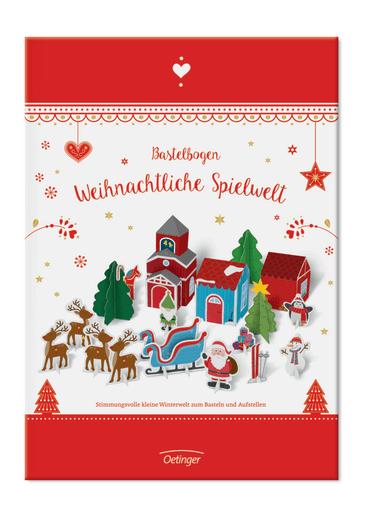 """Bastelbogen """"Weihnachtliche Spielwelt"""", 4260160898756"""
