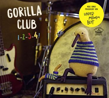 Gorilla Club 1-2-3-4!, 4260173788426