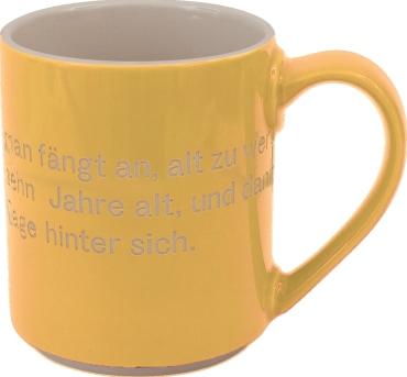 Astrid Lindgren-Helden Becher gelb, 4260512181161