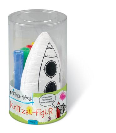 Krickel-Krakel Kritzel-Figur Rakete, 4260160898503