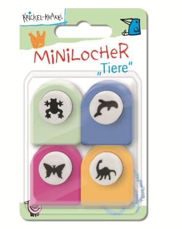 Krickel-Krakel Minilocher Tiere, 4260160899203