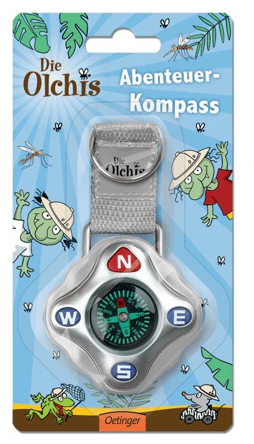 Die Olchis Abenteuer-Kompass, 4260160896158