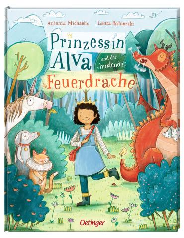 Prinzessin Alva und der hustende Feuerdrache, 9783789109744