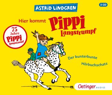 Hier kommt Pippi Langstrumpf!, 9783837311365