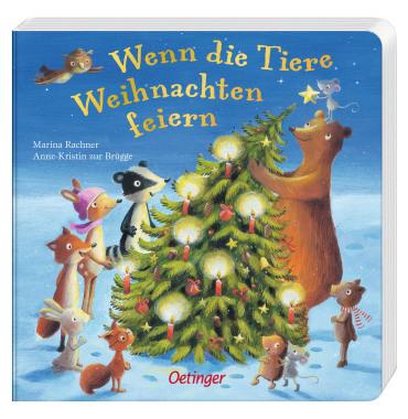 Wenn die Tiere Weihnachten feiern, 9783789170409