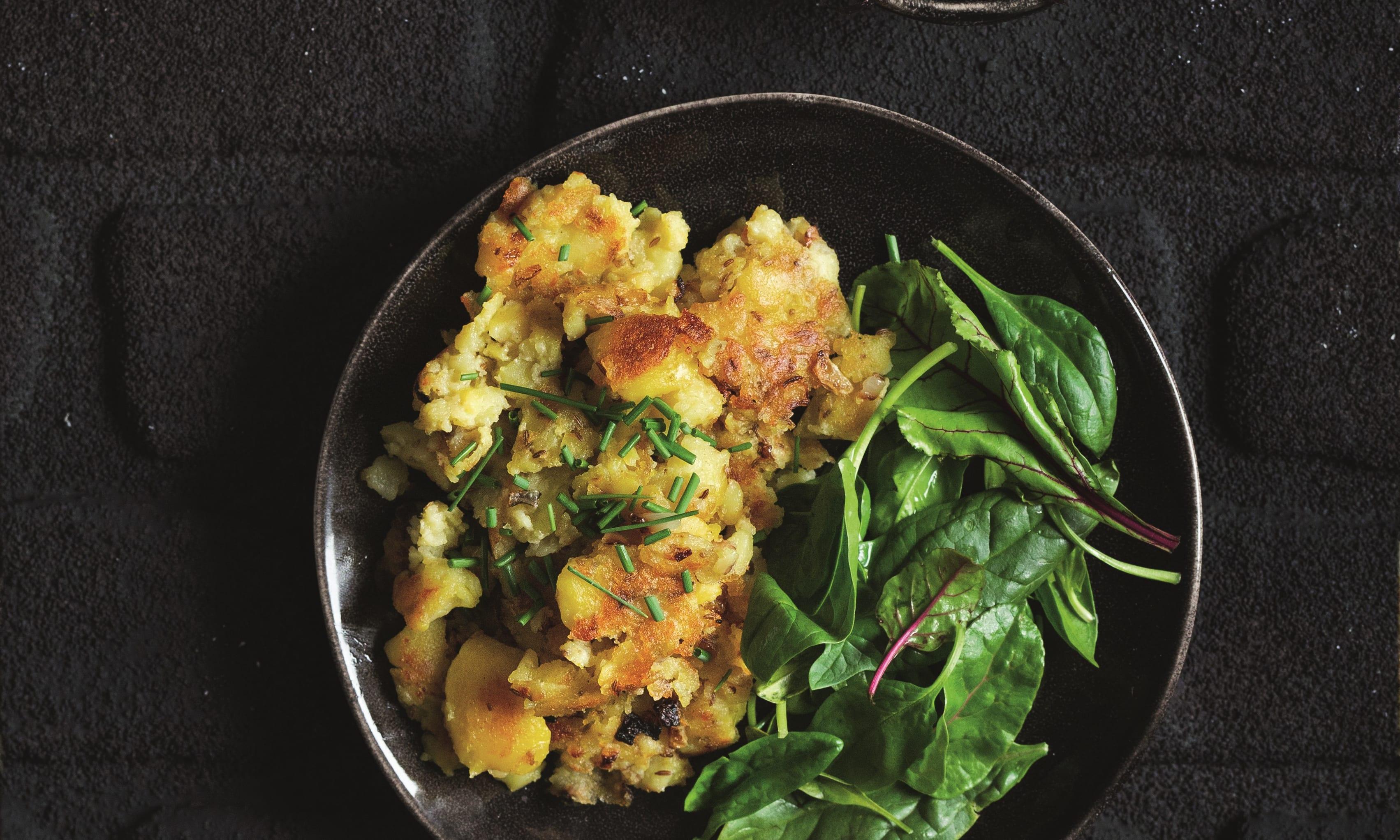 Bild zu Kartoffelschmarrn und Kartoffelschalenchips