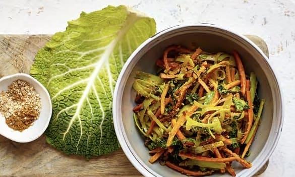 Bild zu Wirsing-Lauch-Curry