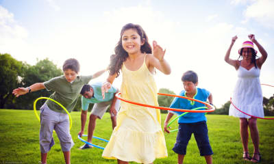Bild zu Hula-Hoop für alle