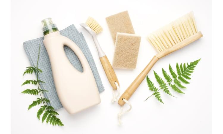Putzen – nachhaltig und umweltfreundlich | plastikfrei leben Rohstoffe & Ressourcen Umweltbildung Ökologie Putzen