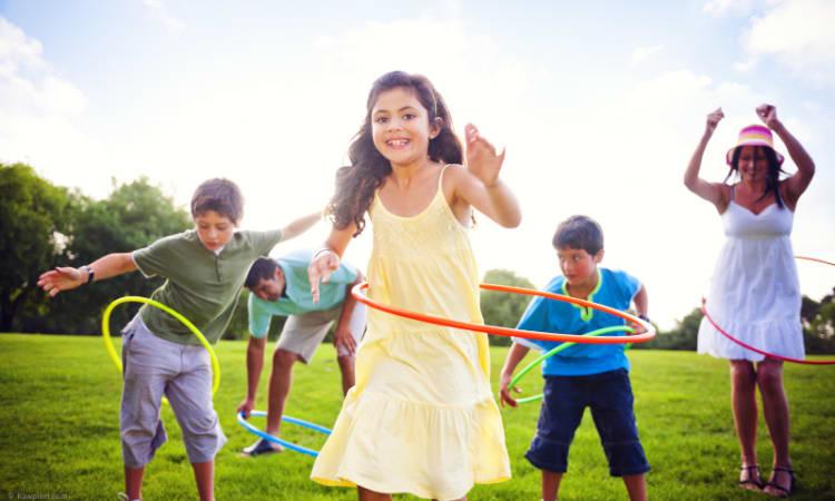 Hula-Hoop für alle   Sport Nachhaltigkeit Bewegung