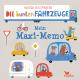 Die bunten Fahrzeuge - Mein Maxi-Memo