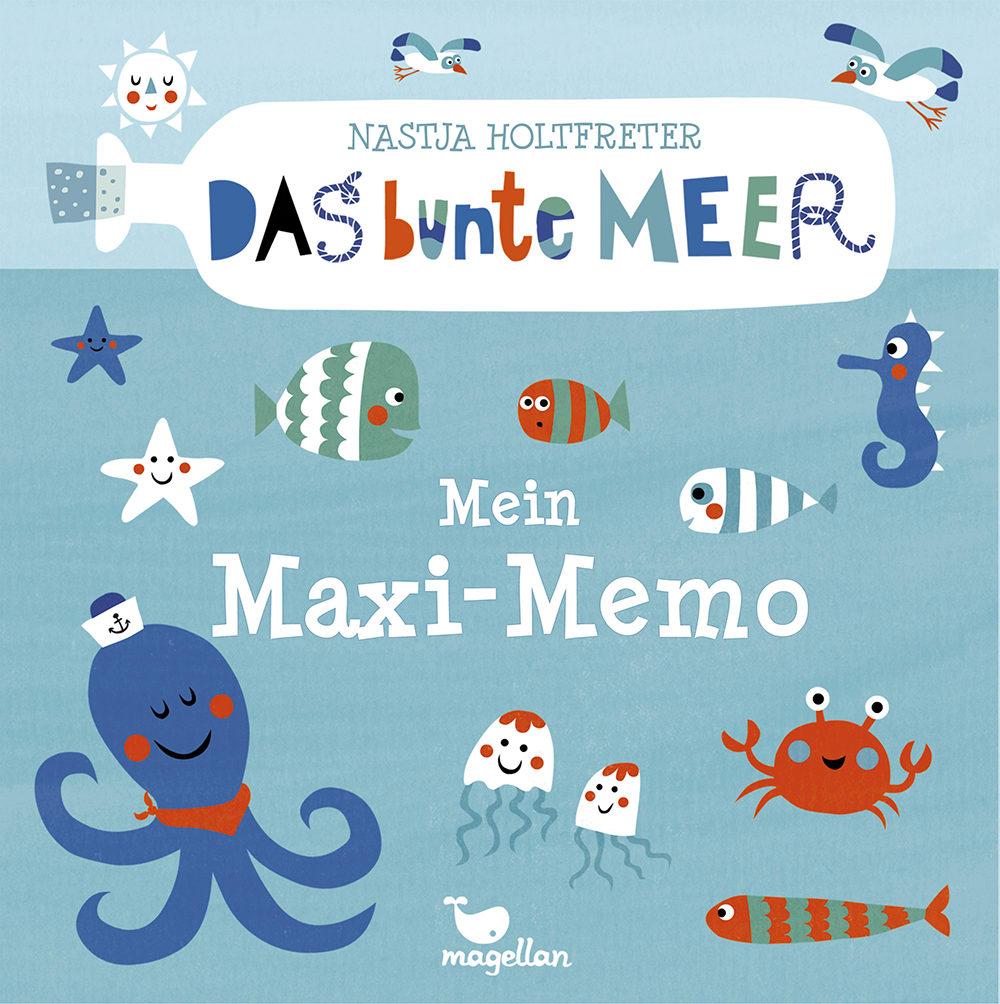 Das bunte Meer - Mein Maxi-Memo