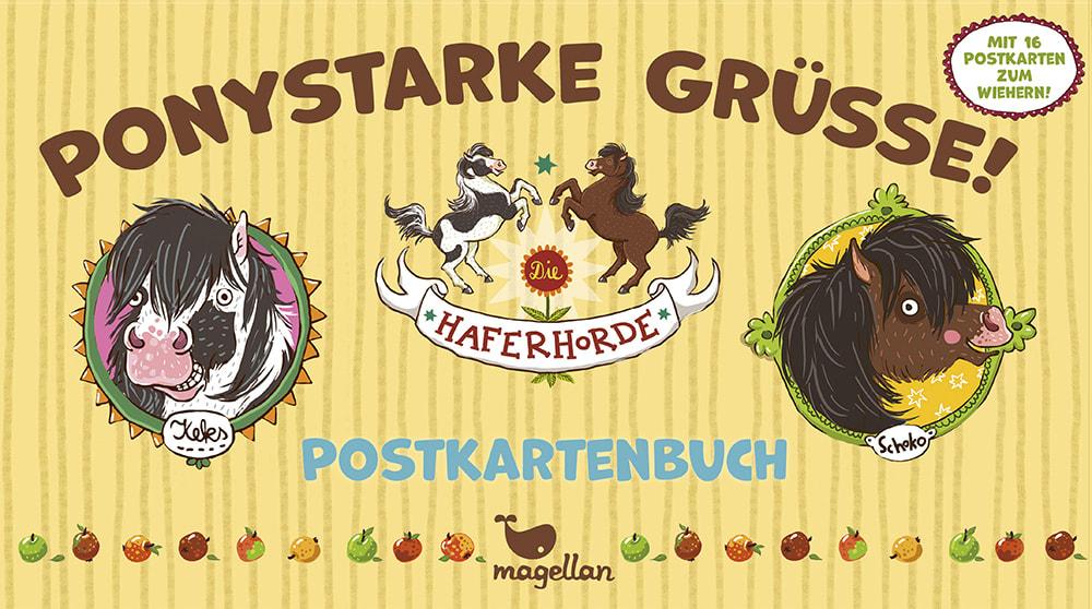 Die Haferhorde - Ponystarke Grüße! (Postkartenbuch)