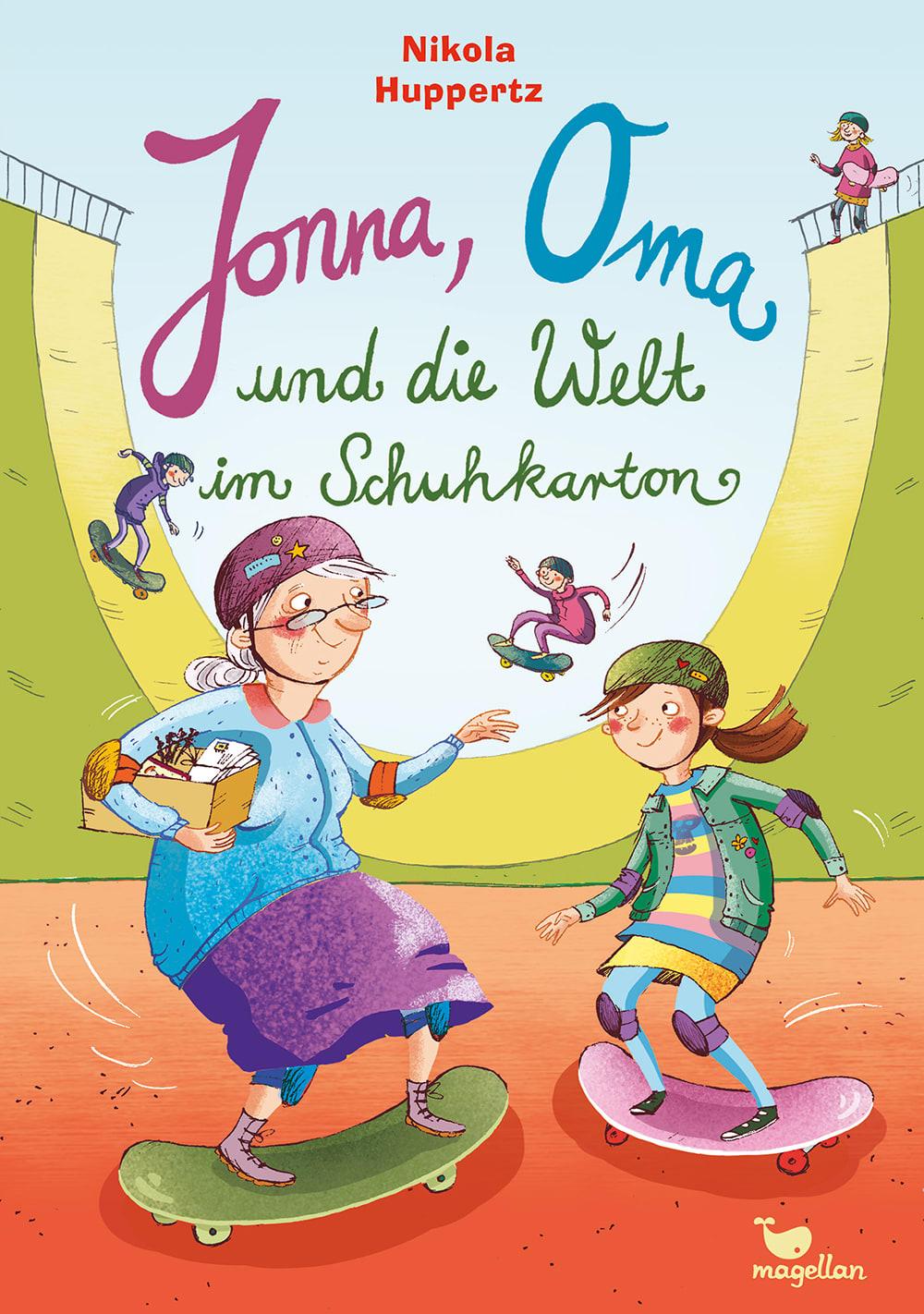 Jonna, Oma und die Welt im Schuhkarton